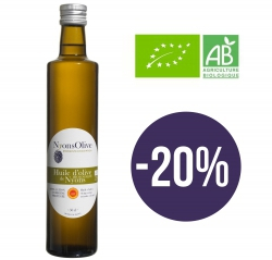SPECIAL OFFER - Glass bottle 50 cl Extra Virgin olive oil NYONS PDO ORGANIC -