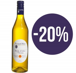 SPECIAL OFFER -20%  Glass bottle 70 cl- olive oil from NYONS PDO extra virgin