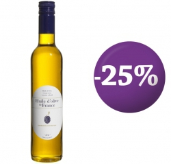 SPECIAL OFFER - 25% French olive oil-  Intense fruitiness 50 cl