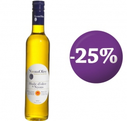 SPECIAL OFFER -25%  Glass bottle 50 cl- olive oil from NYONS PDO extra virgin