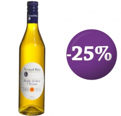 SPECIAL OFFER -25%  Glass bottle 70 cl- olive oil from NYONS PDO extra virgin