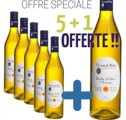 Special offer OLIVE OIL NYONS AOP 70 cl- 5 BOTTLES PURCHASED + 1 FREE