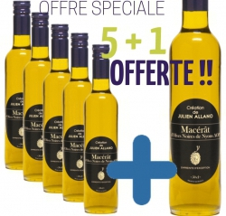 SPECIAL OFFER MACERAT 5 BOTTLES PURCHASED + 1 OFFERED