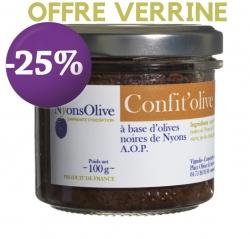 PROMOTION -25%-Confit'olive 100 gr