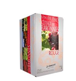 Coteaux des Baronnies Rouge IGP - BIB 5 L