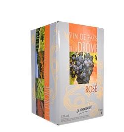 Bag in Box IGP Coteaux des Baronnies Rosé -5 L