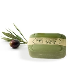 Soap with olive oil -