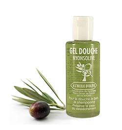Gel douche à l'huile d'olive - 200 ml