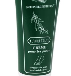 Crème pour les pieds à l'huile d'olive - 100 ml