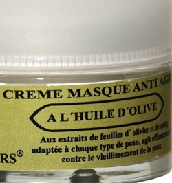 Mask face with olive oil 50 ml