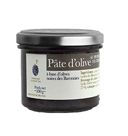 Black olive paste with goat cheese 100 g