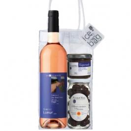 Rosé wine aperitif pack