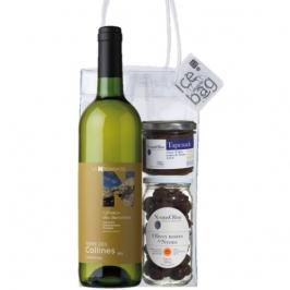 white chardonnay aperitif pack