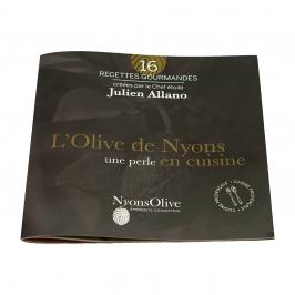 LIVRET CUISINE L'Olive De Nyons, Une Perle en Cuisine