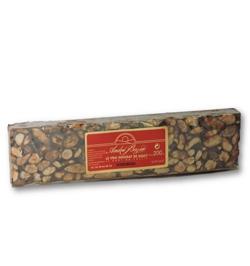 Nougat noir aux amandes - 200 g