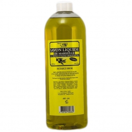 Marseille liquid soap refill bottle 1 L