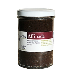 Affinade made with Nyons black olives PDO - 180 g