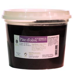Olive paste with herbs de Provence 1 Kg