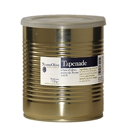 750 g of Tapenade with black olives from Nyons PDO