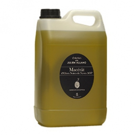 Maceration olive oil with black olives from Nyons - 3 L