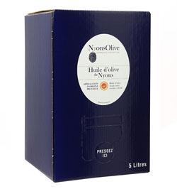 Huile d'olive de Nyons AOP - BIB 5 L