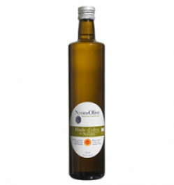 Glass bottle 75 cl Extra Virgin olive oil NYONS PDO ORGANIC -