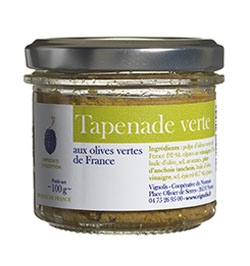 Green Tapenade  (French olive) 100 g