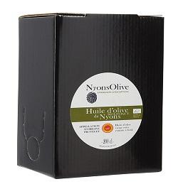 Huile d'olive de Nyons AOP Bio - 2 L
