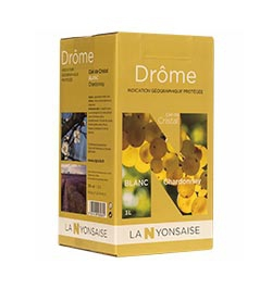 Bag in Box IGP Drôme White  3 L