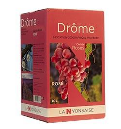Vin de Pays Drôme Rosé IGP - BIB 10 L