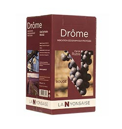 Bag in Box IGP Drôme Red  wine  3 L