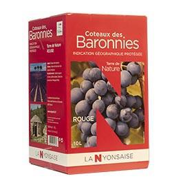 Coteaux des Baronnies Rouge IGP - BIB 10 L
