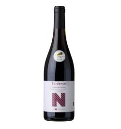 6 bottles Côtes du Rhône AOC-Organic  Red EVIDENCE