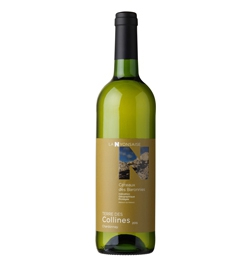 """Coteaux des Baronnies Blanc IGP """"TERRE DE COLLINES"""" - carton de 6 bouteilles"""
