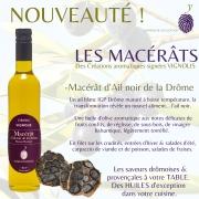 MACÉRAT D'AIL NOIR DE LA DROME &  son goût