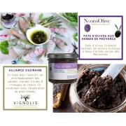 pate d'olives noires aux herbes de provence