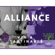 ALLIANCE D'EXCEPTION VINS +TARTINABLES